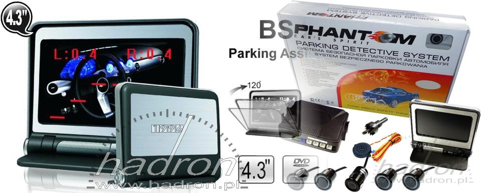 Systemy parkowania - Phantom BS 2843L