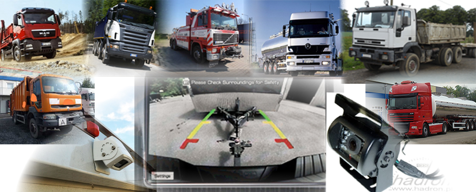 Systemy parkowania - Noxon kamera 24V