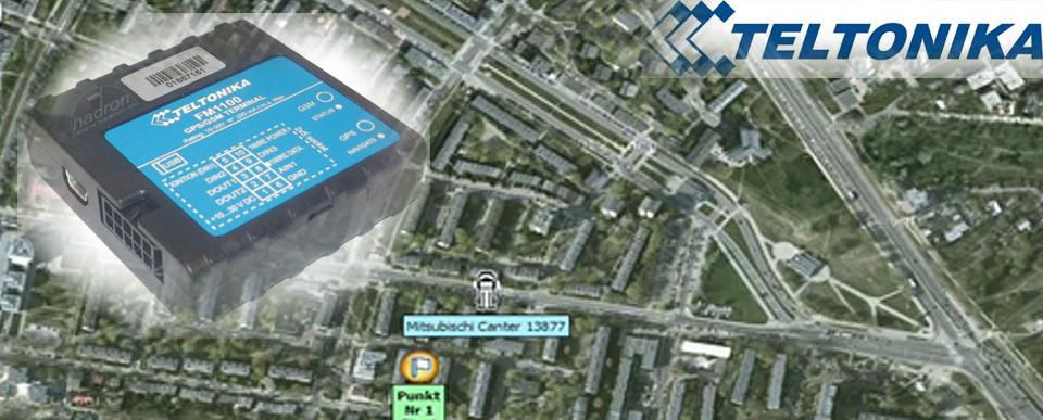 Monitoring pojazdów GPS CarControl Teltonika