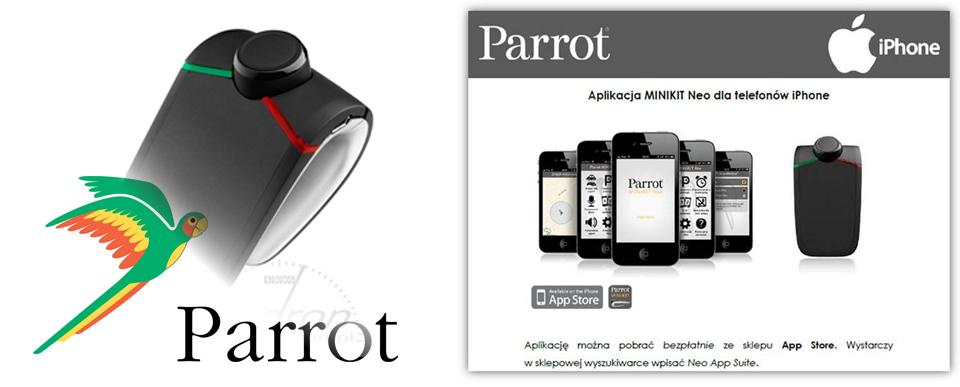 Parrot MiniKit Neo iPhone