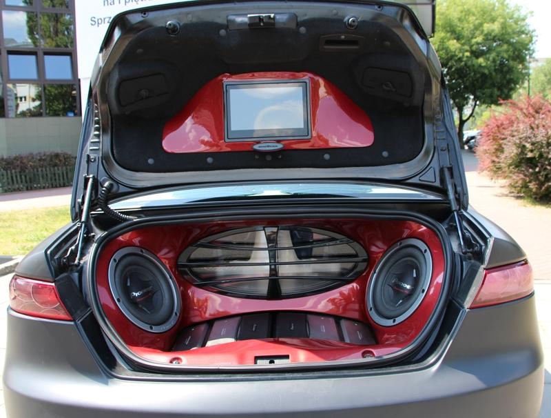 Alfaromeo bagażnik z Audio