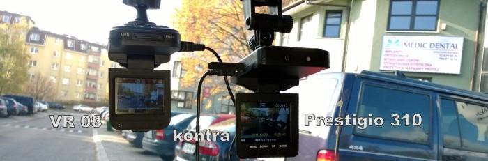 DVR VR08 kontra Prestigio 310