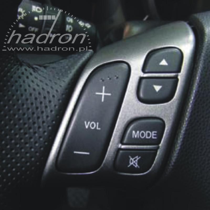 Sterowanie przyciskami z kierownicy