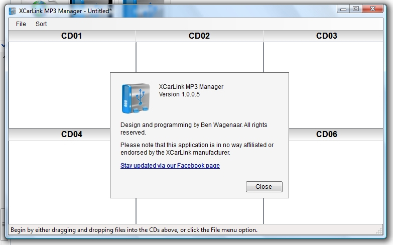 XCarLink MP3 Manager 1.0.0.5