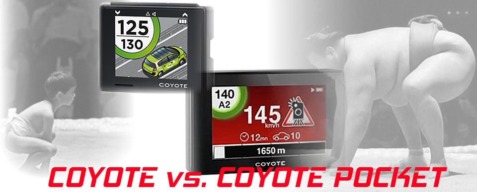 Porównanie Coyote i Coyote Pocket