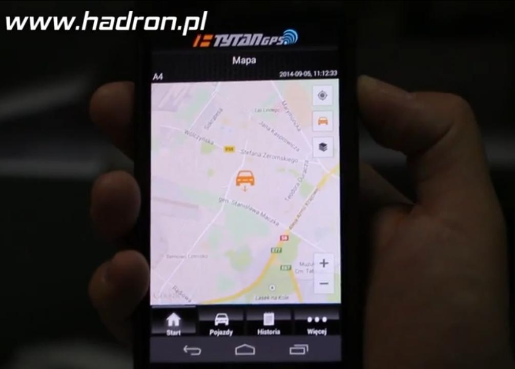 Tytan DS512 lokalizacja GPS