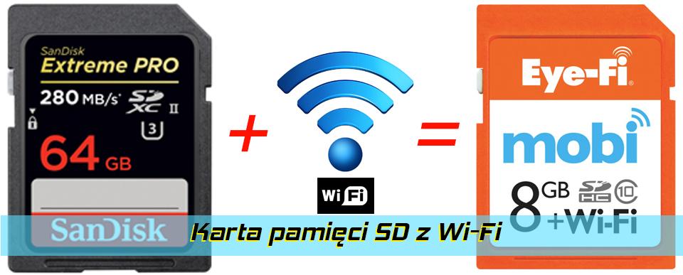 Karta pamięci SD z Wi-Fi