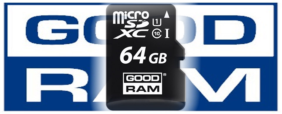 Karta pamięci microSD 64 GB GoodRAM