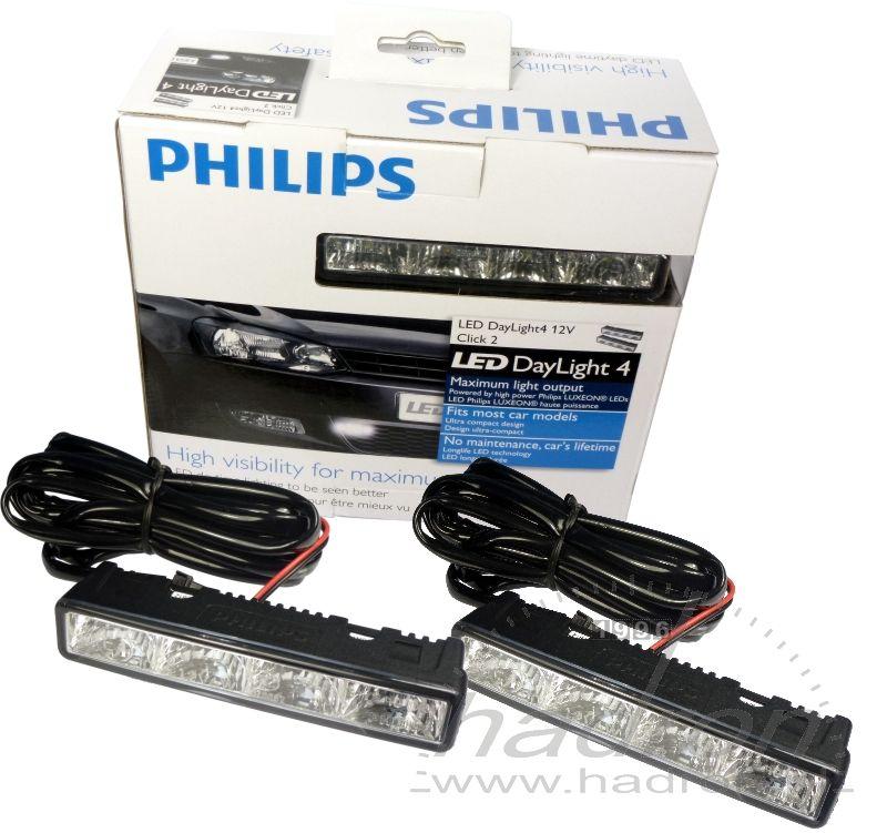 Światła dzienne DRL Philips DayLight 4 LED