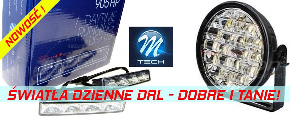światła dzienne DRL M-Tech - dobre i tanie