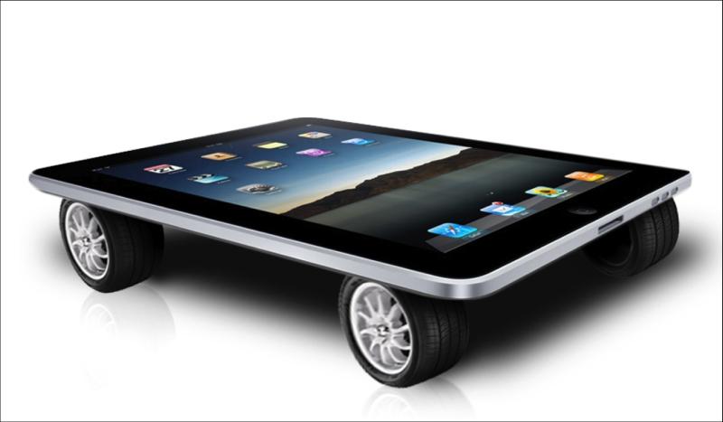 Czy czekają nas samochody sterowane smartfonem?