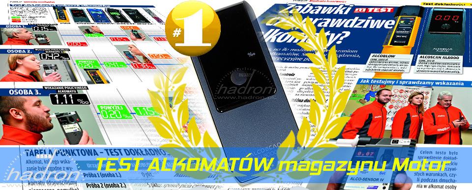 Najlepszy alkomat - AlcoScan AL8000