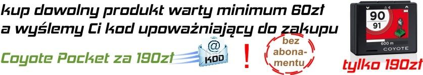 PROMOCJA legalny antyradar Coyote Pocket za 190 zł