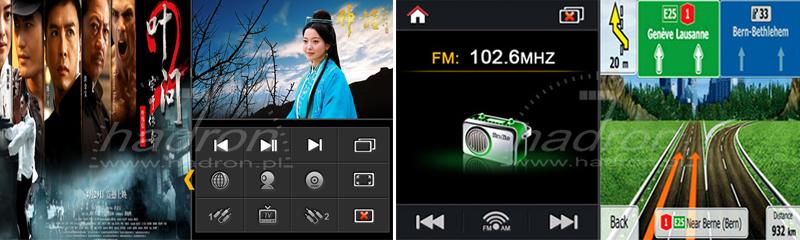 Stacja multimedialna NVOX - funkcja POP