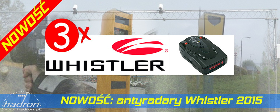 Antyradary Whistler
