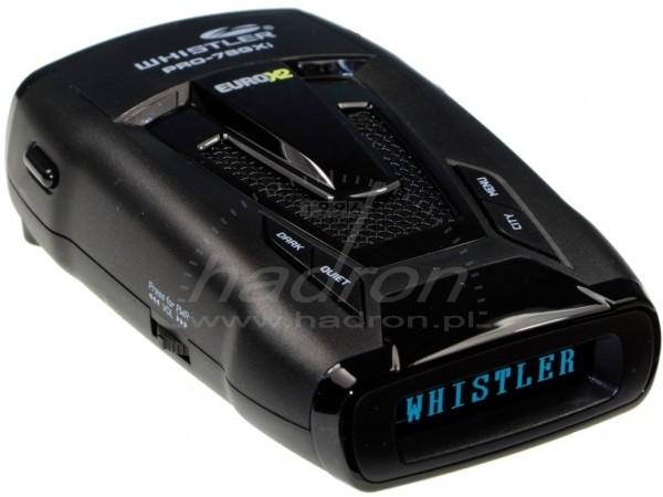 Antyradar Whistler PRO-78GXi Euro X2 z GPS