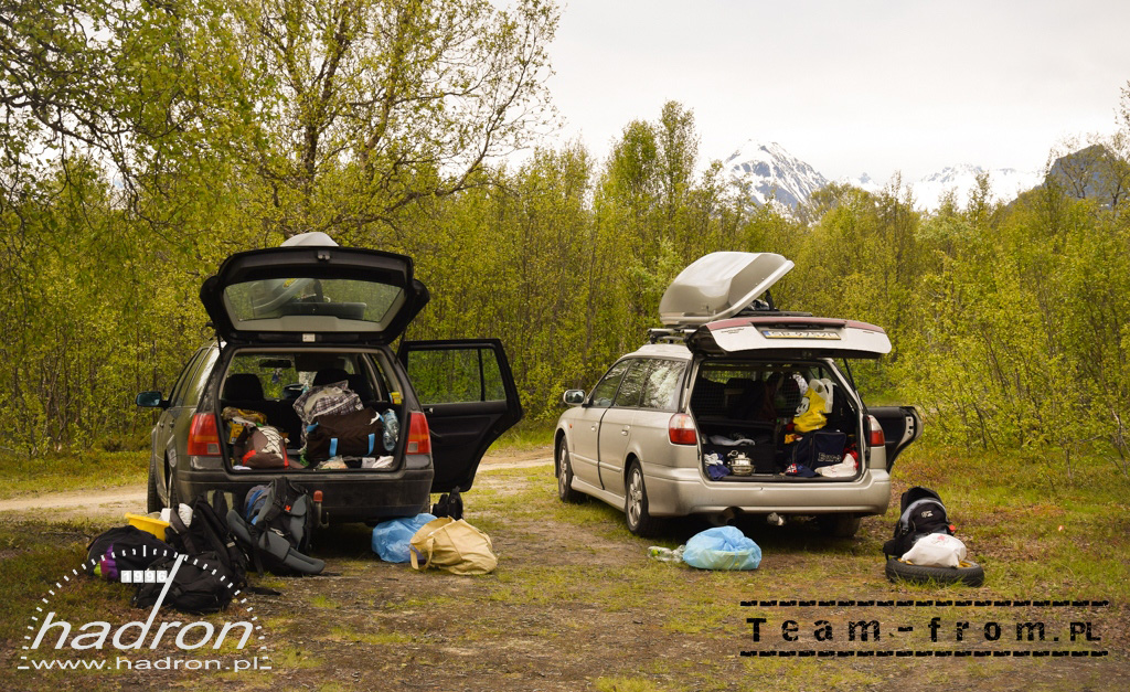 team-from.pl VW Golf IV i Subaru Legacy - Alta, Norwegia