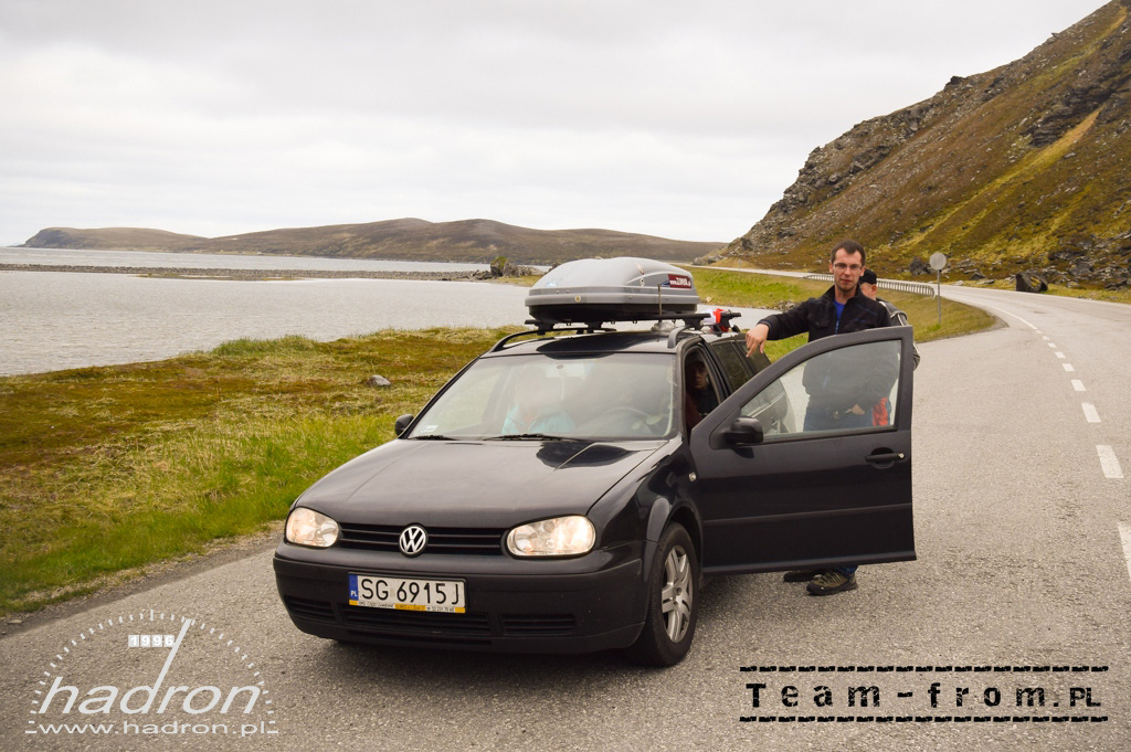 team-from.pl VW Golf IV - 50 km przed Nordkapp