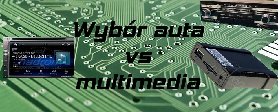 multimedia w aucie okładka