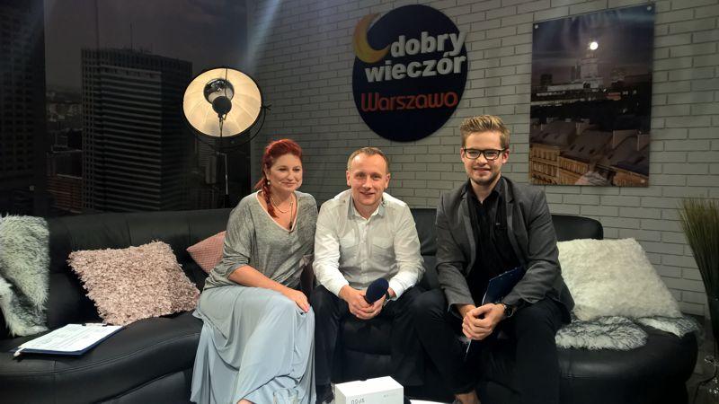 Paweł Ślubowski w Telewizja Warszawa