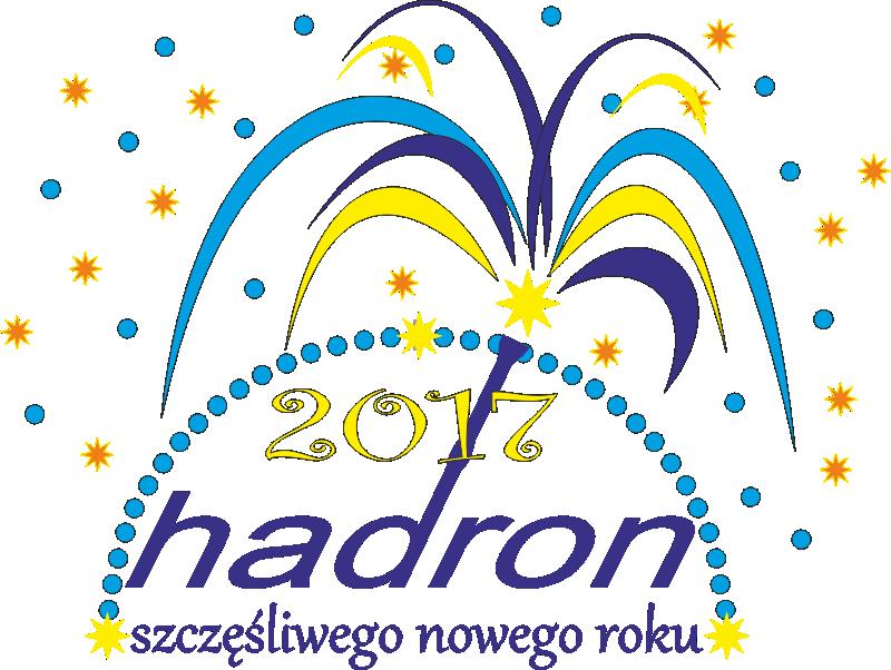 noworoczne logo hadron