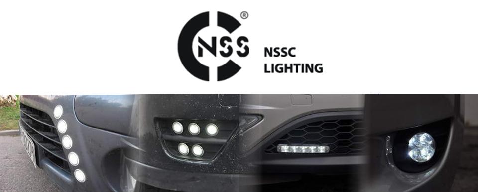 Światła do jazdy dziennej LED firmy Vertex-NSSC