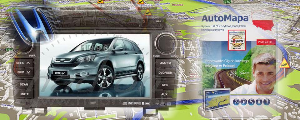 Stacja multimedialna do Hondy i AutoMapa