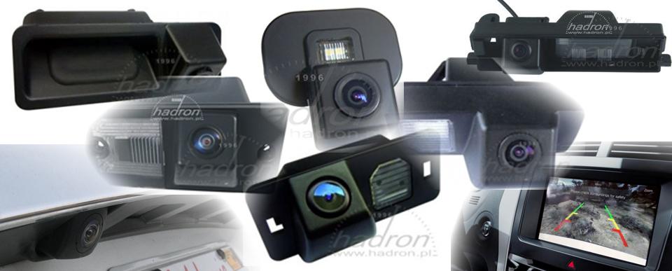 Systemy parkowania - kamery cofania