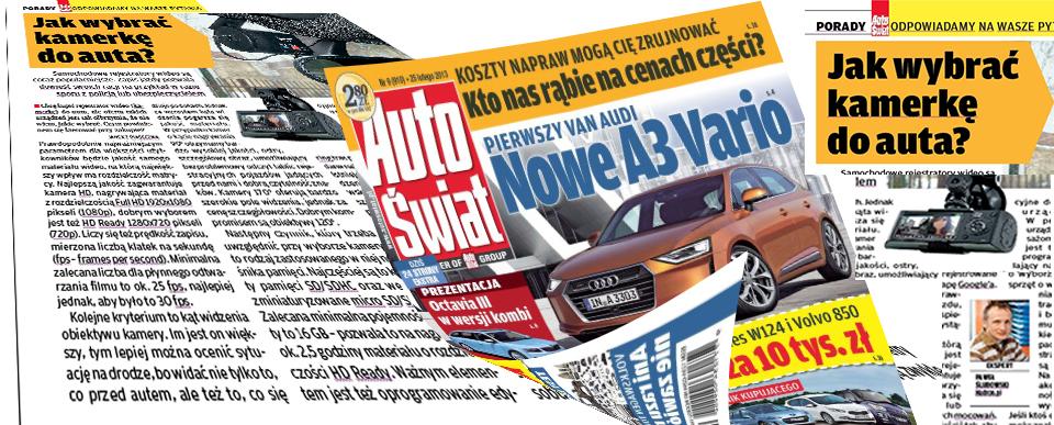 Hadron w mediach AutoŚwiat 9-2013 DVR