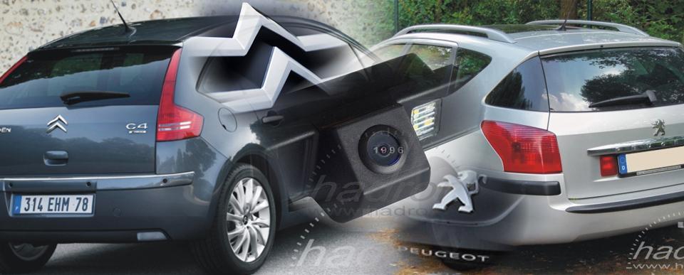 Systemy parkowania - kamera cofania Citroen i Peugeot