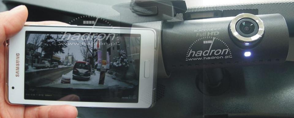 DVR - rejestrator samochodowy BlackVue DR500GW-HD Wi-Fi
