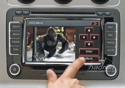 moduł audio-video do radia RNS 510