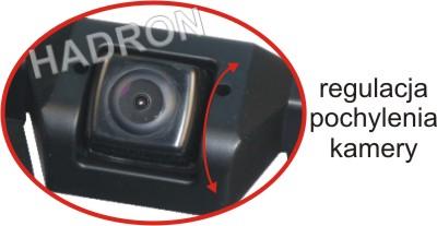 regulacja pochylenia kamery