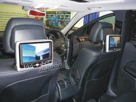 dzięki modułowi audio-video AV-OUT CAN można puścić sygnał z fabrycznego RNS 510 na inne odbiorniki