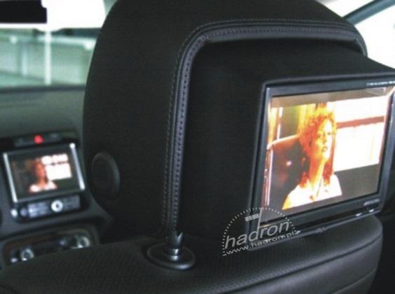 oglądamy telewizję w VW Touareg, dzięki modułowi audio-video