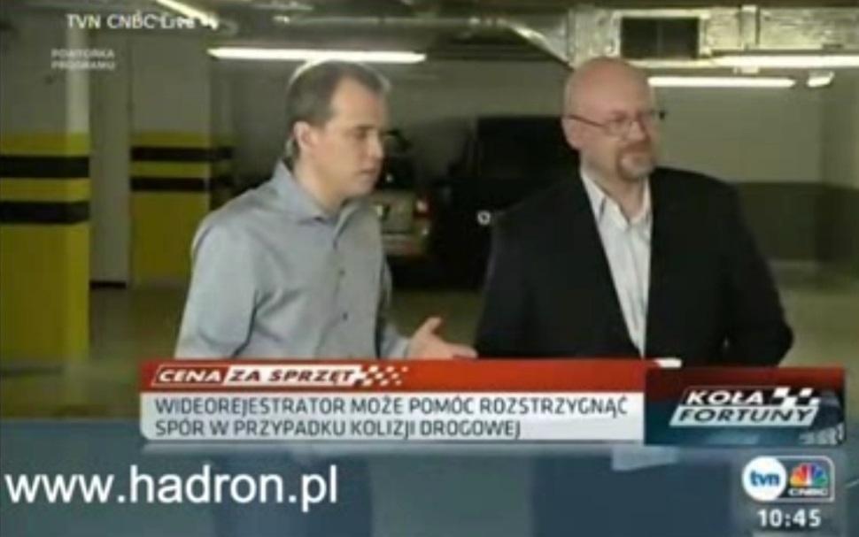Paweł Ślibowski - właściciel sklepu Hadron w TVN CNBC