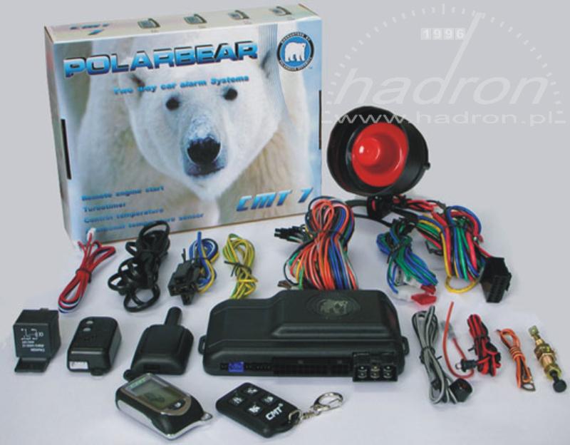 Alarm samochodowy RTX PolarBear CMT7 z odpalaniem