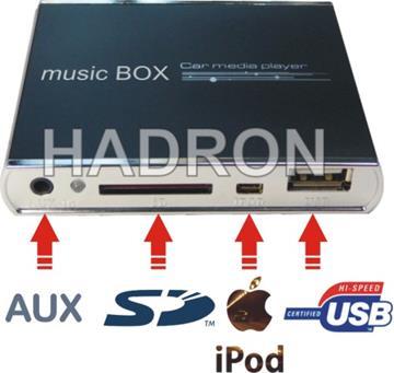 music BOX - car media player