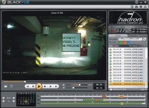 Podgląd Full HD z kamery BlackVue DR380G