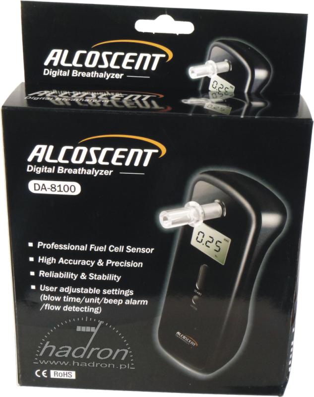 Alkomat ALCOSCENT DA-8100
