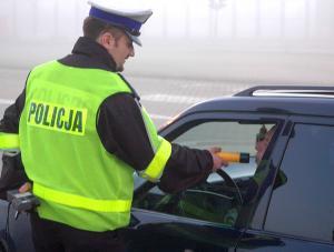 Policyjna kontrola trzeźwości