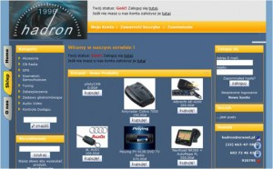 Hadron - sklep online