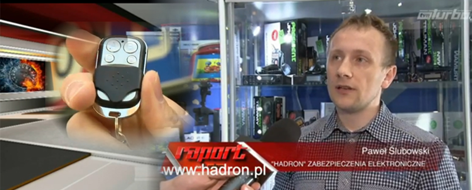 Hadron w mediach TVN TURBO piloty