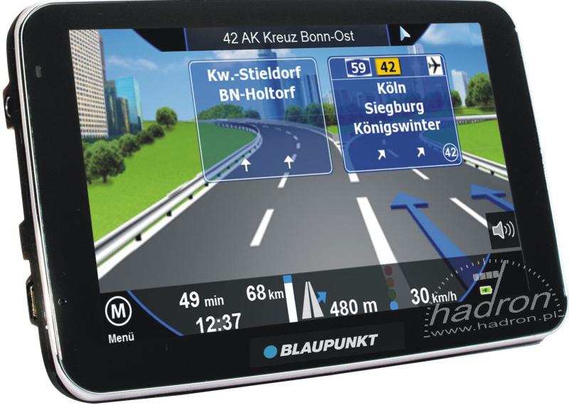 Nawigacja 5 cali Blaupunkt TravelPilot 50 EU LMU i mapy TomTom