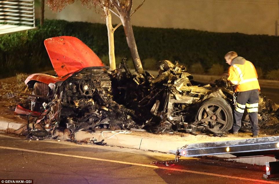 Śmiertelny wypadek samochodowy Paula Walkera