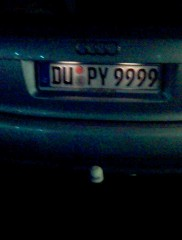 DU PY9999