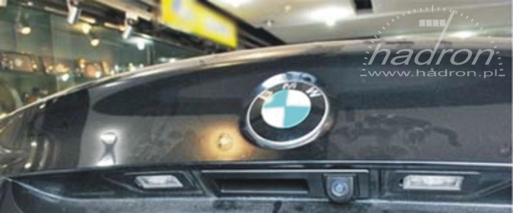 Kamera cofania w BMW 5