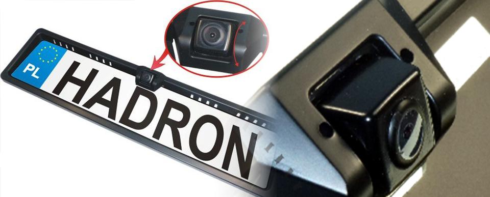 Kamera cofania w ramce tablicy
