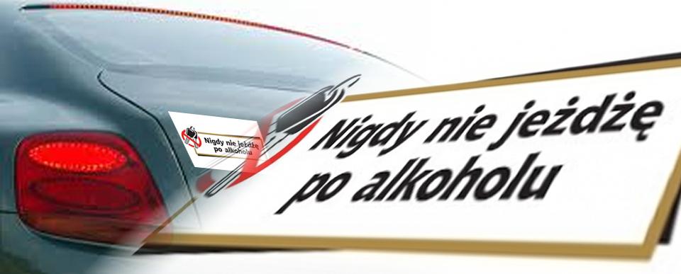 """""""Nigdy nie jeżdżę po alkoholu"""""""