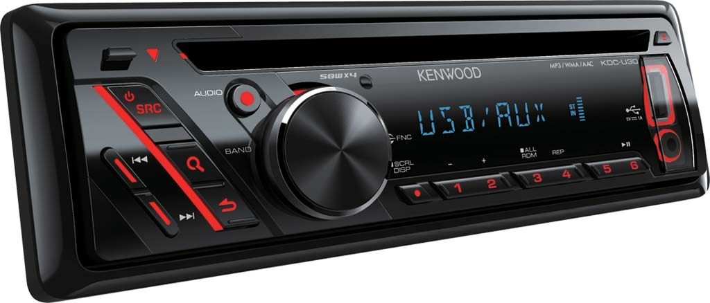 Radio samochodowe USB AUX